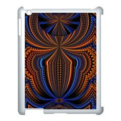 Patterns Light Dark Apple Ipad 3/4 Case (white) by amphoto