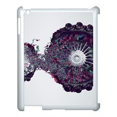 Circles Background Bright  Apple Ipad 3/4 Case (white) by amphoto