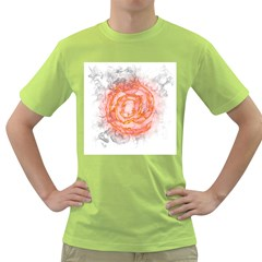 Symbol Fire Flame  Green T Shirt by amphoto