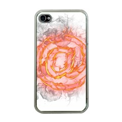 Symbol Fire Flame  Apple Iphone 4 Case (clear) by amphoto