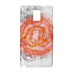 Symbol Fire Flame  Samsung Galaxy Note 4 Hardshell Case by amphoto