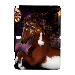 Steampunk Wonderful Wild Horse With Clocks And Gears Galaxy Note 1 by FantasyWorld7