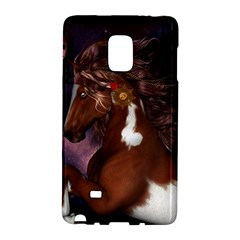 Steampunk Wonderful Wild Horse With Clocks And Gears Galaxy Note Edge by FantasyWorld7