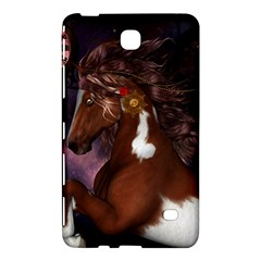 Steampunk Wonderful Wild Horse With Clocks And Gears Samsung Galaxy Tab 4 (8 ) Hardshell Case  by FantasyWorld7