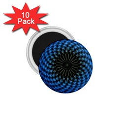 Patterns Circles Rays  1 75  Magnets (10 Pack)  by amphoto