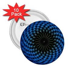 Patterns Circles Rays  2 25  Buttons (10 Pack)  by amphoto