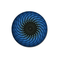 Patterns Circles Rays  Magnet 3  (round) by amphoto