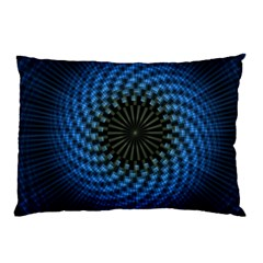 Patterns Circles Rays  Pillow Case (two Sides) by amphoto