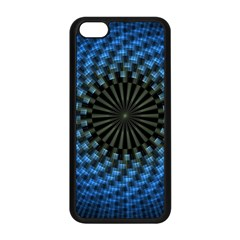 Patterns Circles Rays  Apple Iphone 5c Seamless Case (black) by amphoto