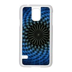 Patterns Circles Rays  Samsung Galaxy S5 Case (white) by amphoto
