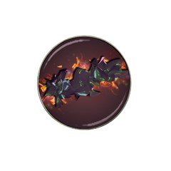 Abstraction Patterns Stripes  Hat Clip Ball Marker (10 Pack)