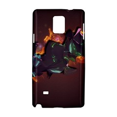 Abstraction Patterns Stripes  Samsung Galaxy Note 4 Hardshell Case by amphoto