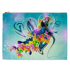 Parrot Abstraction Patterns Cosmetic Bag (xxl)  by amphoto