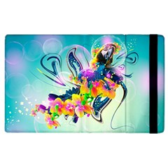 Parrot Abstraction Patterns Apple Ipad 3/4 Flip Case by amphoto