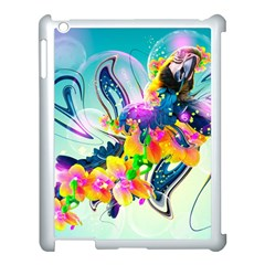 Parrot Abstraction Patterns Apple Ipad 3/4 Case (white) by amphoto