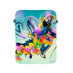 Parrot Abstraction Patterns Apple Ipad 2/3/4 Protective Soft Cases by amphoto