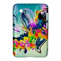 Parrot Abstraction Patterns Samsung Galaxy Tab 2 (7 ) P3100 Hardshell Case  by amphoto