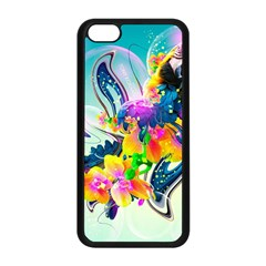 Parrot Abstraction Patterns Apple Iphone 5c Seamless Case (black) by amphoto