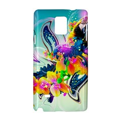 Parrot Abstraction Patterns Samsung Galaxy Note 4 Hardshell Case by amphoto