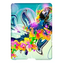 Parrot Abstraction Patterns Samsung Galaxy Tab S (10 5 ) Hardshell Case  by amphoto