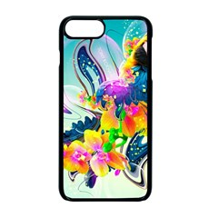 Parrot Abstraction Patterns Apple Iphone 7 Plus Seamless Case (black) by amphoto