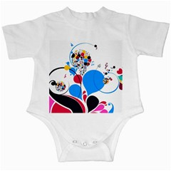 Patterns Colorful Bright  Infant Creepers by amphoto