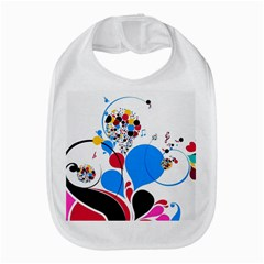 Patterns Colorful Bright  Bib by amphoto