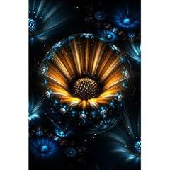 Fractal Flowers Abstract  5 5  X 8 5  Notebooks by amphoto