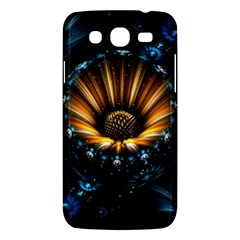 Fractal Flowers Abstract  Samsung Galaxy Mega 5 8 I9152 Hardshell Case  by amphoto