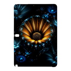 Fractal Flowers Abstract  Samsung Galaxy Tab Pro 10 1 Hardshell Case by amphoto