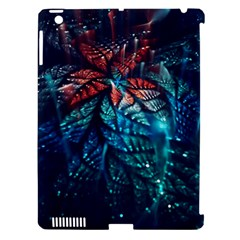 Fractal Flower Shiny  Apple Ipad 3/4 Hardshell Case (compatible With Smart Cover) by amphoto