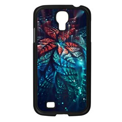 Fractal Flower Shiny  Samsung Galaxy S4 I9500/ I9505 Case (black) by amphoto