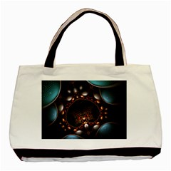 Pattern Fractal Abstract 3840x2400 Basic Tote Bag by amphoto