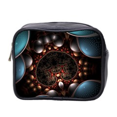 Pattern Fractal Abstract 3840x2400 Mini Toiletries Bag 2 Side by amphoto