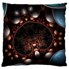 Pattern Fractal Abstract 3840x2400 Large Cushion Case (two Sides) by amphoto