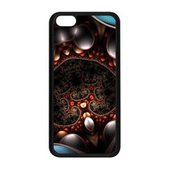 Pattern Fractal Abstract 3840x2400 Apple Iphone 5c Seamless Case (black) by amphoto