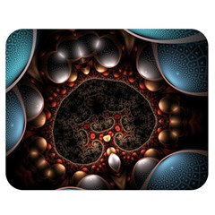 Pattern Fractal Abstract 3840x2400 Double Sided Flano Blanket (medium)  by amphoto
