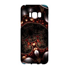 Pattern Fractal Abstract 3840x2400 Samsung Galaxy S8 Hardshell Case  by amphoto