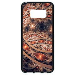 Fractal Patterns Abstract  Samsung Galaxy S8 Black Seamless Case by amphoto