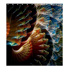 Fractal Patterns Abstract 3840x2400 Shower Curtain 66  X 72  (large)  by amphoto