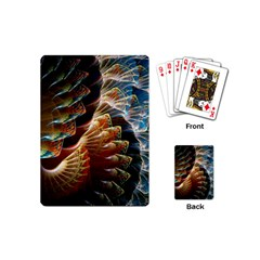 Fractal Patterns Abstract 3840x2400 Playing Cards (mini)  by amphoto