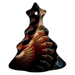 Fractal Patterns Abstract 3840x2400 Christmas Tree Ornament (two Sides) by amphoto