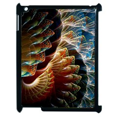 Fractal Patterns Abstract 3840x2400 Apple Ipad 2 Case (black) by amphoto