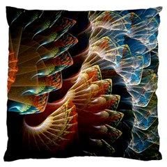 Fractal Patterns Abstract 3840x2400 Large Cushion Case (one Side) by amphoto