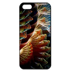 Fractal Patterns Abstract 3840x2400 Apple Iphone 5 Seamless Case (black) by amphoto