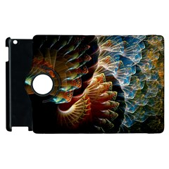 Fractal Patterns Abstract 3840x2400 Apple Ipad 3/4 Flip 360 Case by amphoto