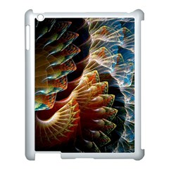 Fractal Patterns Abstract 3840x2400 Apple Ipad 3/4 Case (white) by amphoto
