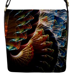 Fractal Patterns Abstract 3840x2400 Flap Messenger Bag (s) by amphoto