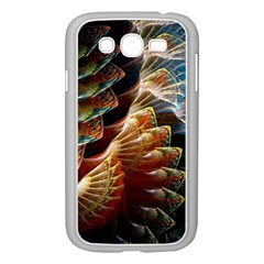 Fractal Patterns Abstract 3840x2400 Samsung Galaxy Grand Duos I9082 Case (white) by amphoto