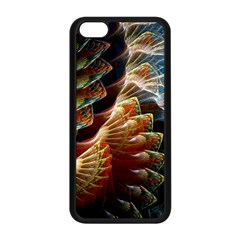 Fractal Patterns Abstract 3840x2400 Apple Iphone 5c Seamless Case (black) by amphoto